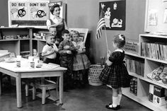 Children saying the Pledge of Allegiance to the American flag on Romper Room. I was on Romper Room! This Is Your Life, Way Of Life, Photo Vintage, Vintage Photos, Vintage Tv, Vintage Stores, Best Memories, Childhood Memories, Family Memories