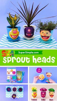 Simple Crafts, Easy Crafts For Kids, Easy Diy Crafts, Toddler Crafts, Art For Kids, Earth Day Activities, Craft Activities For Kids, Stem Activities, Preschool Crafts