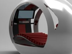 The Pod - relaxation and entertainment station