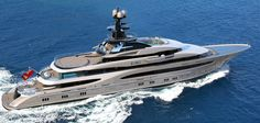 Lurssen KISMET II Now For Charter with Moran Yacht & Ship