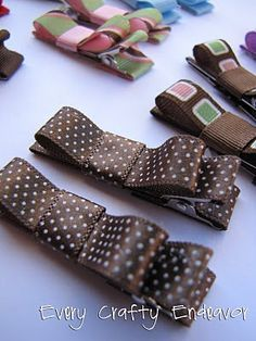 Hair Clippies to make with K