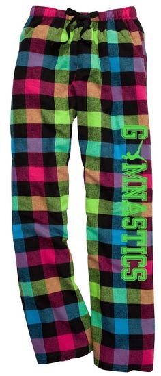 Varsity Girl Lacrosse Neon Plaid Lounge Flannel Pant with Pockets Softball Shirts, Girls Softball, Gymnastics Girls, Volleyball, Gymnastics Things, Softball Quotes, Cheerleading, Baseball Pants, Sports Mom