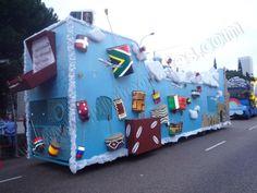 Diseño y Fabricación de Carrozas | SP Integrales Fabricación de carrozas para desfiles