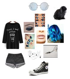 """""""Beatrice Bunny"""" by skykittan360 on Polyvore featuring PèPè, Converse and LASplash"""
