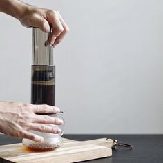 Aeropress perfection grab yours on sale now!    TAG your coffee friend!    Shop NOW  @originalaeropress Link in Bio  by @ryan.pang by originalaeropress