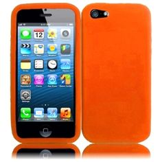Insten Rubber Soft Silicone Soft Skin Gel Phone Case Cover for Apple iPhone 5 / 5S / SE #1520013