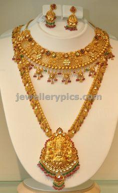 Khazana gold Haram | long necklace designs - Latest Jewellery Designs