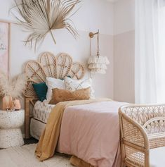 Big Girl Bedrooms, Little Girl Rooms, Girls Bedroom, Bedroom Ideas, Bedroom Decor For Kids, Girl Kids Room, Peach Bedroom, Decoration Inspiration, Room Inspiration