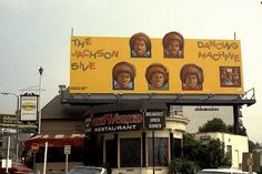 Billboards on Sunset - The Jackson Five 'Dancing Machine'