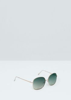 Sunglasses m - Γυαλιά ηλίου for Γυναίκα | MANGO ΜΑΝΓΚΟ Ελλάδα Mango, Sunglasses, Metal, Fashion, Woman, Manga, Moda, Fashion Styles, Metals