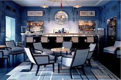 The Blue Bar by David Collins