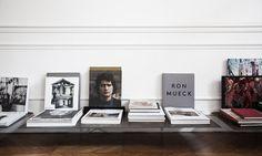 T.D.C   low-level bookshelf by Festen Architecture, Paris