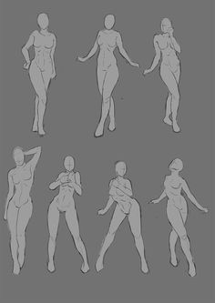 I did this after gestures, which I try to do everyday. Anatomy and proportions are tough. Gonna draw more. My favs are middle bottoms xD Female poses Female Pose Reference, Body Reference Drawing, Anime Poses Reference, Anatomy Sketches, Anatomy Art, Human Anatomy, Greys Anatomy, Drawing Body Poses, Drawing Tips