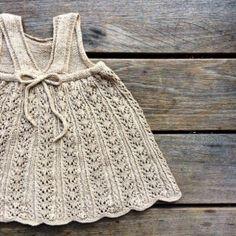 Knitting for Olive: SOMMERBLONDEKJOLE strikkeopskrift