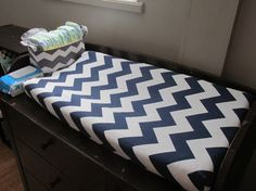 Chevron Chaning Pad Cover pick your own color by NocturnalNoah, $25.00