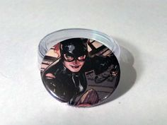 Comic Book 1.5 Button// Catwoman, $1.00