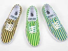 KENZO × VANS AUTHENTIC STRIPES COLLECTION #sneaker