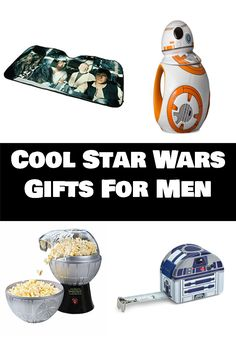 Star Wars gift ideas - cool Star Wars gifts, Star Wars gifts for Dad and a couple funny Star Wars gifts. Perfect for birthdays or Christmas.