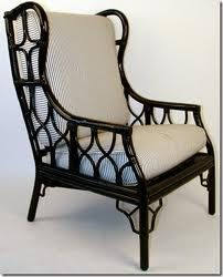 Rattan Wing Back Chairs   Google Search Black Rattan Chair, Rattan Armchair,  Wicker Dining
