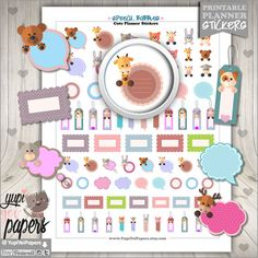 Speech Bubble Planner Stickers   by www.YupiYeiPapers.etsy.com
