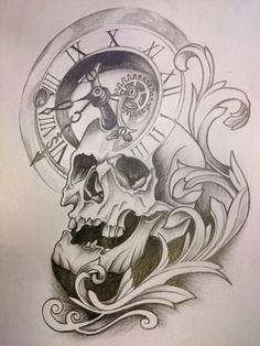 Skull tattoo project - Famous Last Words Emo Tattoos, Kunst Tattoos, Arrow Tattoos, Feather Tattoos, Body Art Tattoos, Tribal Tattoos, Rose Drawing Tattoo, Tattoo Design Drawings, Tattoo Sketches