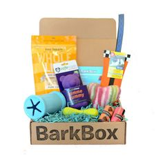 Bark Box Monthly Subscription. Each month, your dog receives treats and toys in the mail! Proceeds go to an animal rescue shelter! I have already placed my order for my pup! Everyone do the same! Our pups need lovin too:) #BarkBox