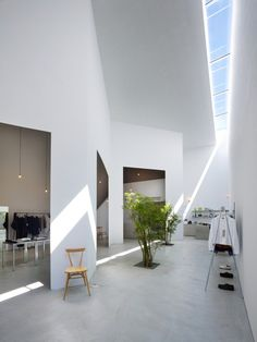 dry garden with skylight - 52 by Suppose Design Office Suppose Design Office, Office Interior Design, Interior And Exterior, Space Architecture, Shop Interiors, Commercial Interiors, Retail Design, Store Design, Lighting Design