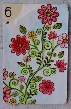 watercolor resist pen and foil sheet