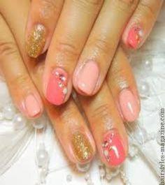 pink family nailart 20 Cute Nail Art Designs for Short Nails