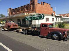 Federal truck hauler hot rod NSW Sydney Australia running a 454
