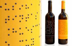 Design innovations for the visually impaired - Blind wine. I will be adding this to my collection.
