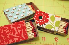 How To: Make Your Own Magnetic Matchbooks  Turn ordinary matchbooks that sit in a drawer into magnets that not only look good, but will be readily accessible next time your pilot light goes out.