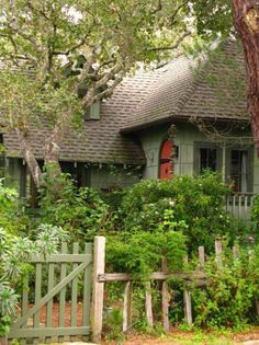 A Carmel Cottage, one of the most beautiful places I have visited Adore Carmel Calif. Storybook Homes, Storybook Cottage, Fairytale Cottage, Garden Cottage, Forest Cottage, Lush Garden, Cute Cottage, Cottage Style, Cottage Ideas