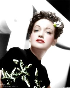 Dorothy Lamour (Color by Brenda J Mills)