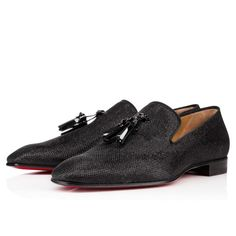 Men Shoes - Dandelion Tassel Glitter Luminor - Christian Louboutin