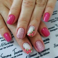 ideas manicure pedicure summer pink toes for 2019 Gel French Manicure, Manicure And Pedicure, Pedicure Summer, Toe Nails, Pink Nails, Pink Toes, Short Nail Designs, Nail Art Designs, Almond Nails French