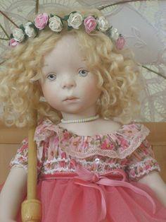 Моя самая уникальная кукла - Minouche Joёlle. Sylvia Natterer для Petitcollin, 2015 / Sylvia Natterer, Сильвия Наттерер. Коллекционно-игровые куклы / Бэйбики. Куклы фото. Одежда для кукол