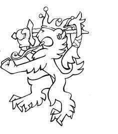 finnish lion Flag Art, Moomin, Lion Tattoo, My Heritage, Finland, Tatoos, Chip Carving, Hobbies, Printables
