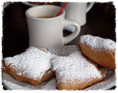 Beignets & Café au lait Recipes in Cajun Cuisine and More Cajun Cookbook Cajun Recipes New Orleans Cuisine Cajun Food