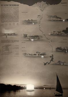 España, Perú y Colombia entre las propuestas ganadoras del MoAN, Museum of the Ancient Nile,Primer Lugar / España. Image Cortesía de Arquideas