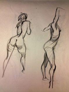 speedlines: Back to basics – Steve Huston (Fluidity of Motion) Human Figure Drawing, Figure Sketching, Figure Drawing Reference, Life Drawing, Anatomy Reference, Portrait Sketches, Art Sketches, Art Drawings, Gesture Drawing