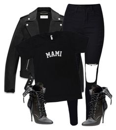 """""""Untitled #152"""" by sianjasmynp ❤ liked on Polyvore featuring Yves Saint Laurent"""
