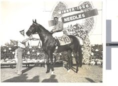 1956: Needles - Needles won the Derby in 1956 with a time of 2:03:40.