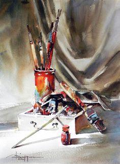 Watercolour-Acuarela-Corneliu-Dragan-Targoviste-natura-moarta-compozitie-28