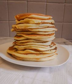Fluffy pancakes (gluten free, lactose free)- Fluffy pancakes (sans gluten, sans lactose) Pancakes with orange blossom (gluten-free, lactose-free) - Easy Waffle Recipe, Sans Gluten Sans Lactose, Lactose Free, Gluten Free Pumpkin, Healthy Pumpkin, Gluten Free Cakes, Gluten Free Recipes, Patisserie Sans Gluten, Sweets