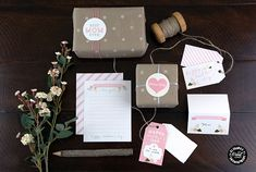 Mother's Day Printable Notecards by Elegance and Enchantment on TodaysCreativeBlog.net