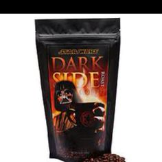 Star Wars Darth Vader Dark Side Roast Coffee, available at ThinkGeek. Get a taste of the Dark Side with this rich hand roasted coffee. Van Cleef Arpels, I Love Coffee, Best Coffee, Minions, Star Wars Day, Star Trek, Star Wars Gifts, Dark Roast, Dark Lord