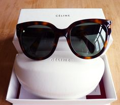 lazy day or not, you can't go wrong with a cute pair of sunglasses, especially if they're celine audrey sunglasses. breakfast at tiffany's? don't mind if i do...