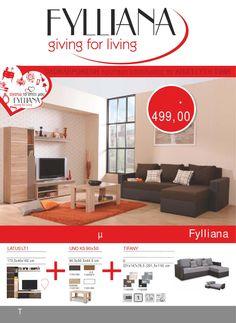Fylliana  (νέα προσθήκη). Νέο φυλλάδιο – Online κατάλογος Νοέμβριος – Δεκέμβριος 2015 2ο. Fylliana – Forma Ideale. Έπιπλα – Κατάλογος προϊόντων 2015 Δείτε τους Online στο : http://www.helppost.gr/prosfores/home-stores/fylliana/