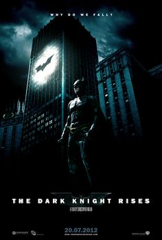 Batman - The Dark Knight Rises Fan-made Movie Posters